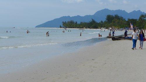 Strand in Cenang